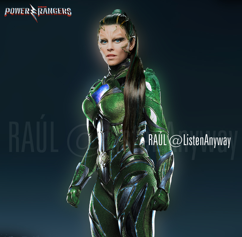 Rita Repulsa, Green Ranger by RaulRT
