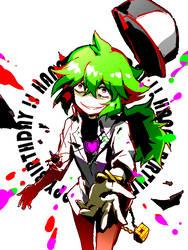 shirokuro HBD! by mewarrow