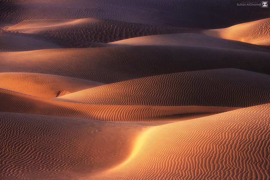 abstract of desert by ~sultan-alghamdi