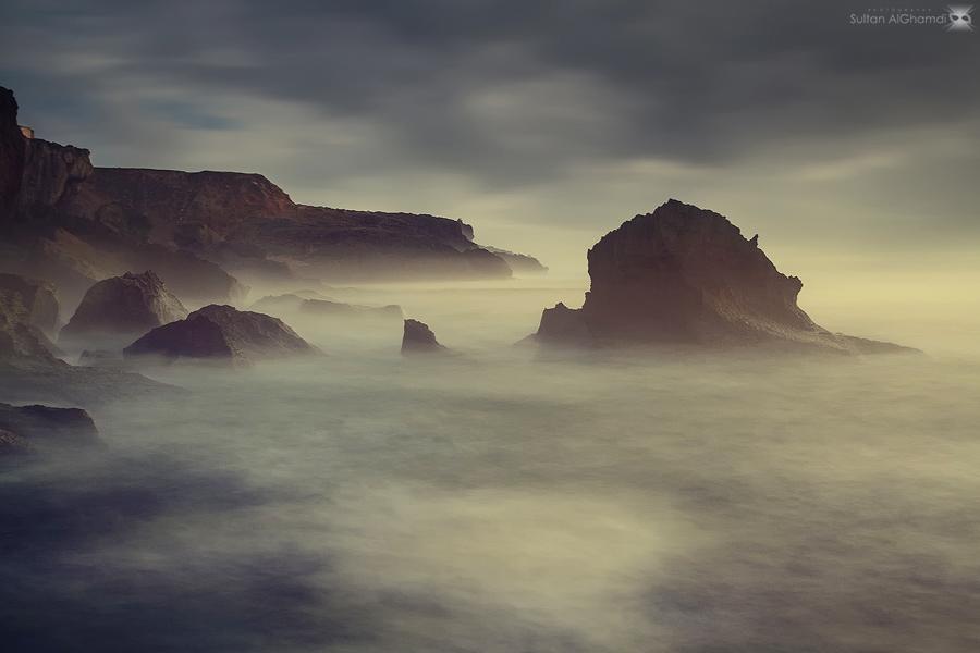 misty morning by sultan-alghamdi
