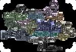 Hallownest Transparent Map HQ