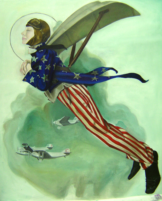 Tiny Q vs. Uncle Sam by TinyQ