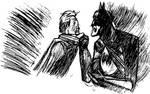 Batman - The Killing Joke Study Sketch