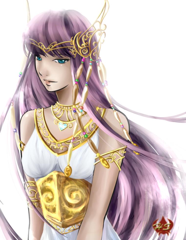 Athena LoS by Hestia-Sama