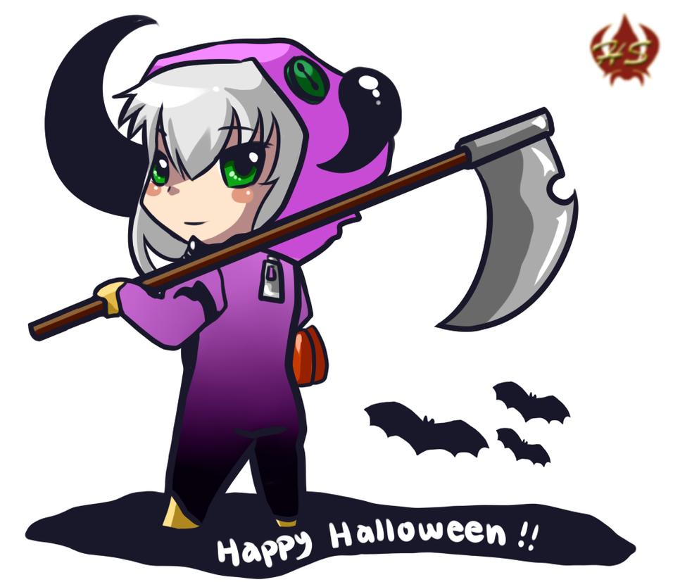 Happy Halloween ~ by Hestia-Sama