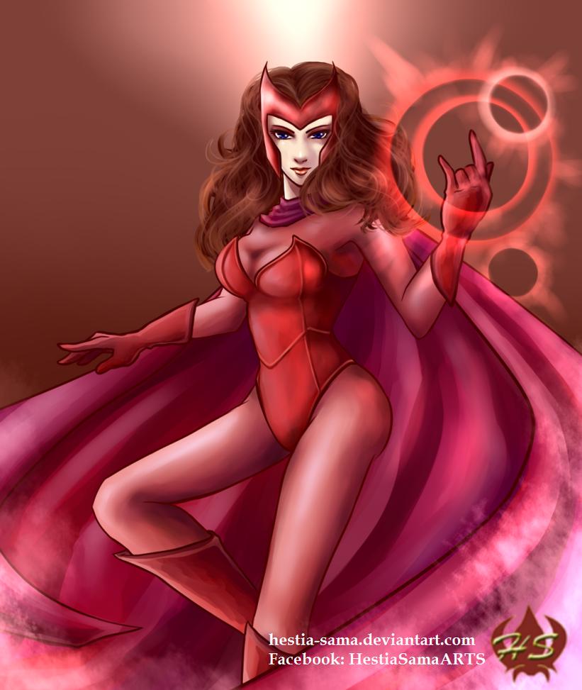 Scarlet Witch by Hestia-Sama