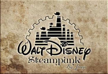 Walt Disney estilo STEAMPUNK by MANGOCreativeStudio