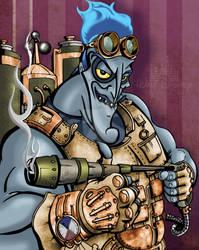 Hades STEAMPUNK ilustrado by MANGOCreativeStudio