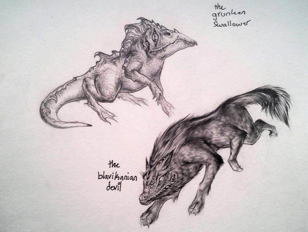 Monsters by stormfugl