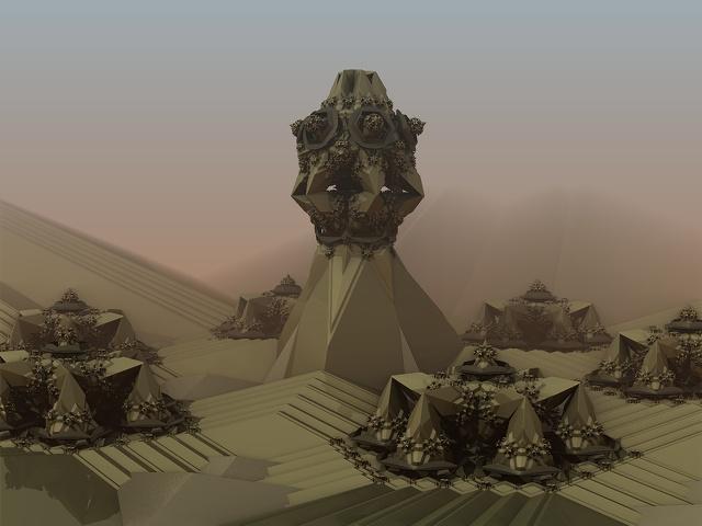 Desert Encampment by damndansdawg