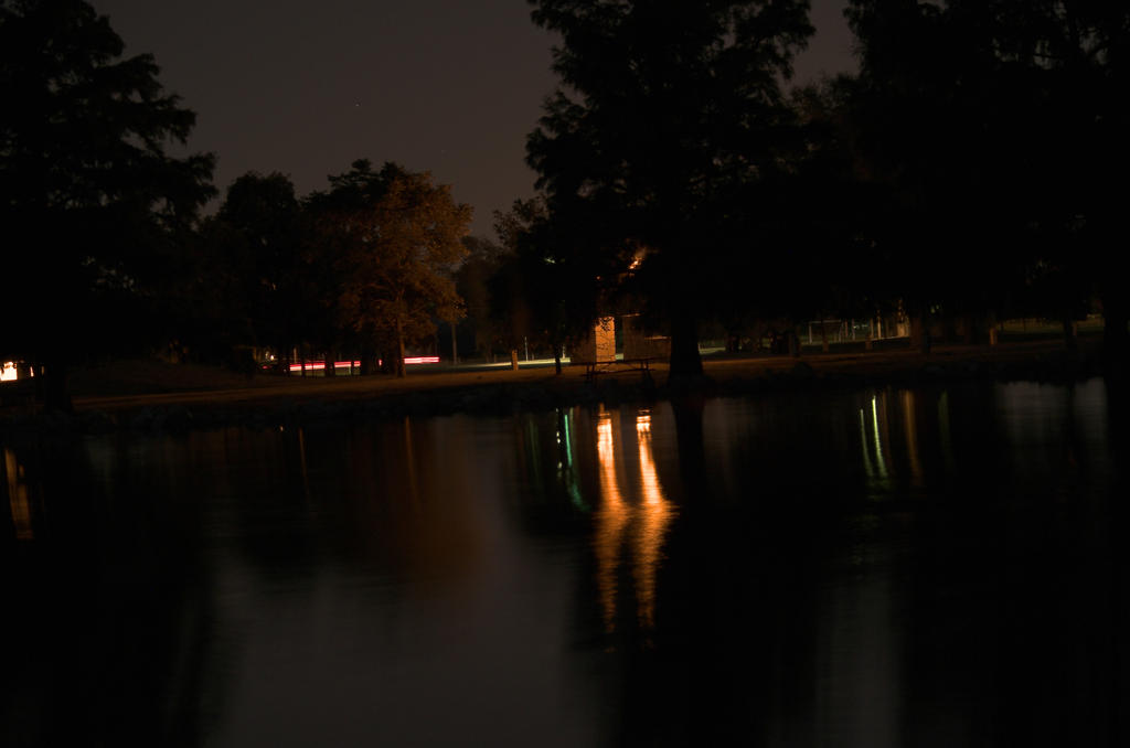 Carey park At Night by damndansdawg