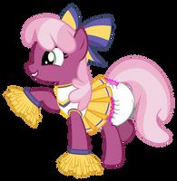 Cheerleader Cheerilee Diapered by ThunderDasher07