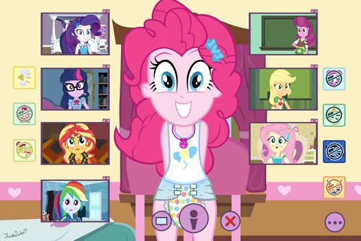 Pinkie's Webcam Shenanigans Part 2