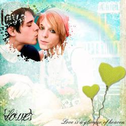 Love is a glimpse of heaven