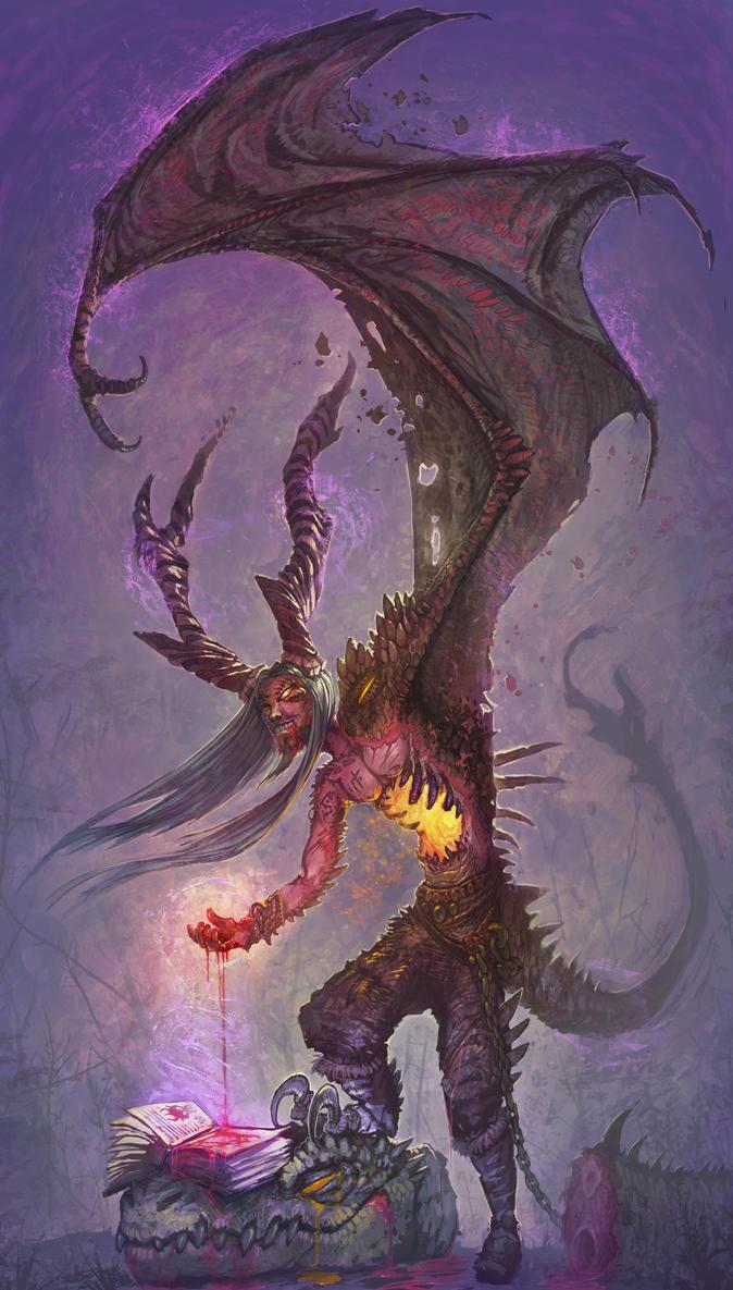 Transmutation Warlock by Crittercreator