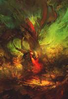 Bull dragon by RHADS