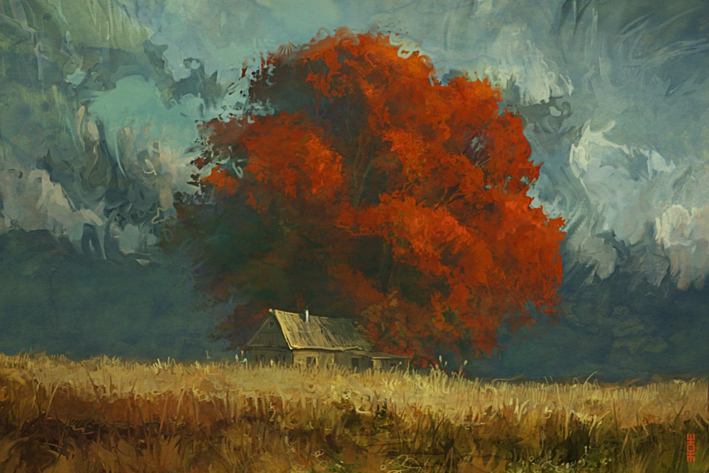 Tree of loneliness by RHADS