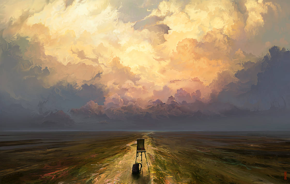 Nice place for sketch by RHADS