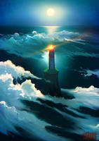 Cloud Lighthouse by RHADS