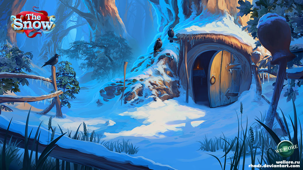 Background 01 The Snow by RHADS