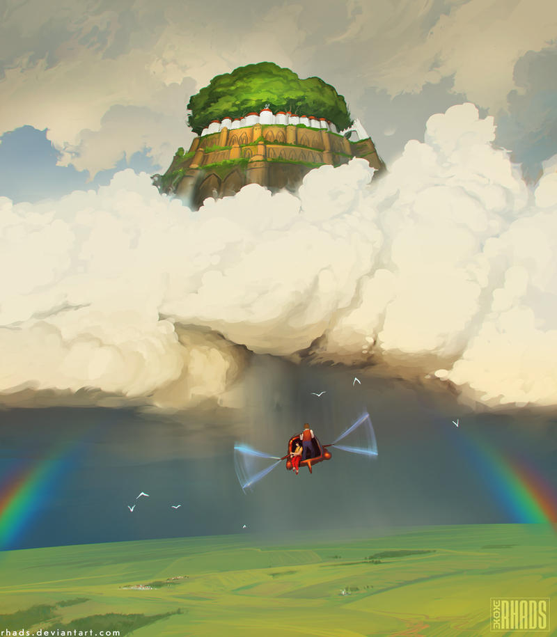 Castle in the sky by RHADS