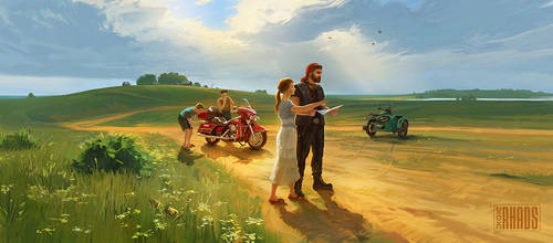 Could You Show Me The Road? by RHADS