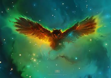 Owl Nebula by RHADS