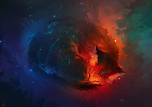 Sleeping Cat Nebula