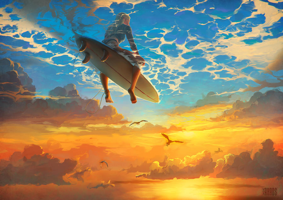 Beautiful world by rhads on deviantart for Beautiful drawings and paintings