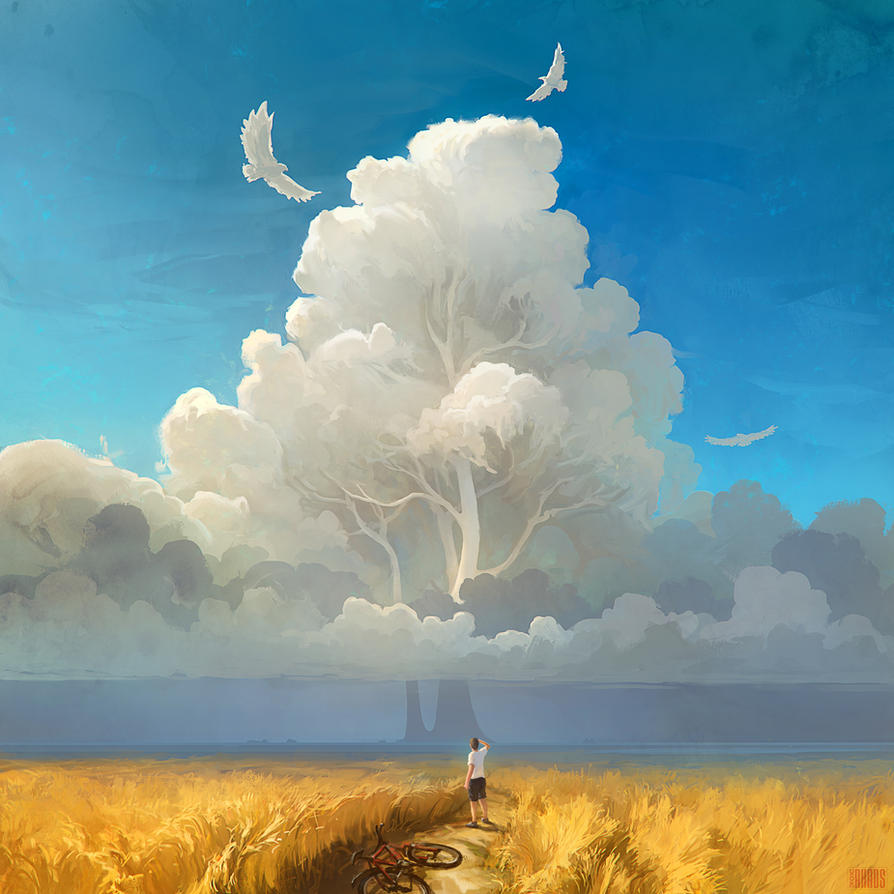 Nature salvation by rhads for Artiste nature