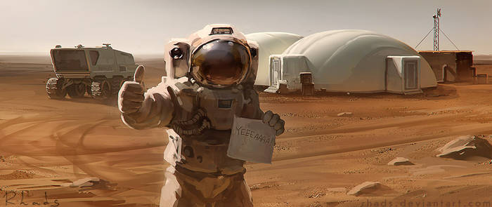 THE MARTIAN by RHADS