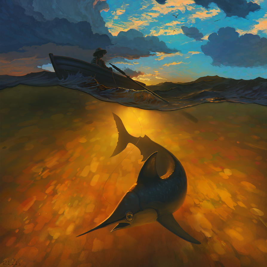 The Old Man And The Sea by RHADS