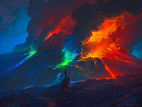 Second Paint Eruption