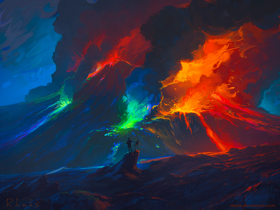 Second Paint Eruption by RHADS