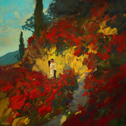 Kissing In The Rose Garden by RHADS