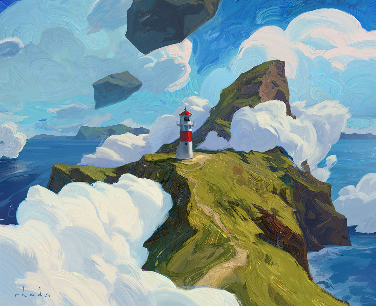 Two Tickets To Faroe, Please by RHADS