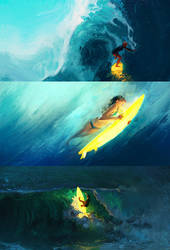 Shine Surfing by RHADS