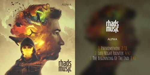 Cover for my album Alpha