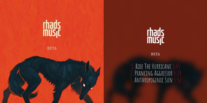 Cover for my album Beta