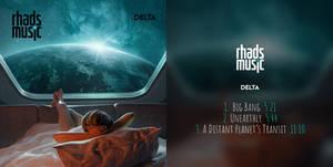 Cover for my album Delta