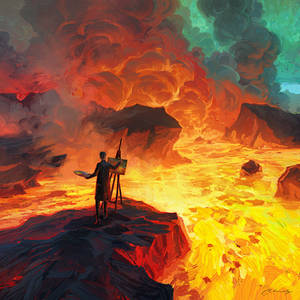 Third Paint Eruption