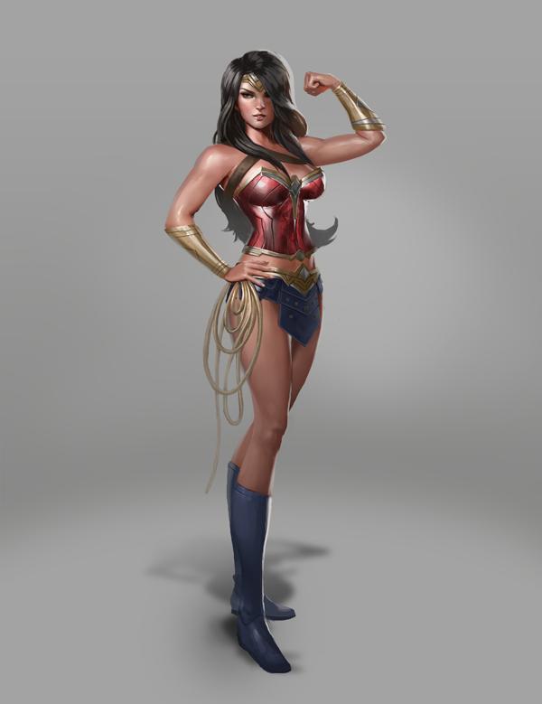 Wonder Woman by kike1988