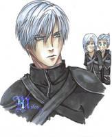 Yazoo Final Fantasy 7  Shorthaired by liren-oleander