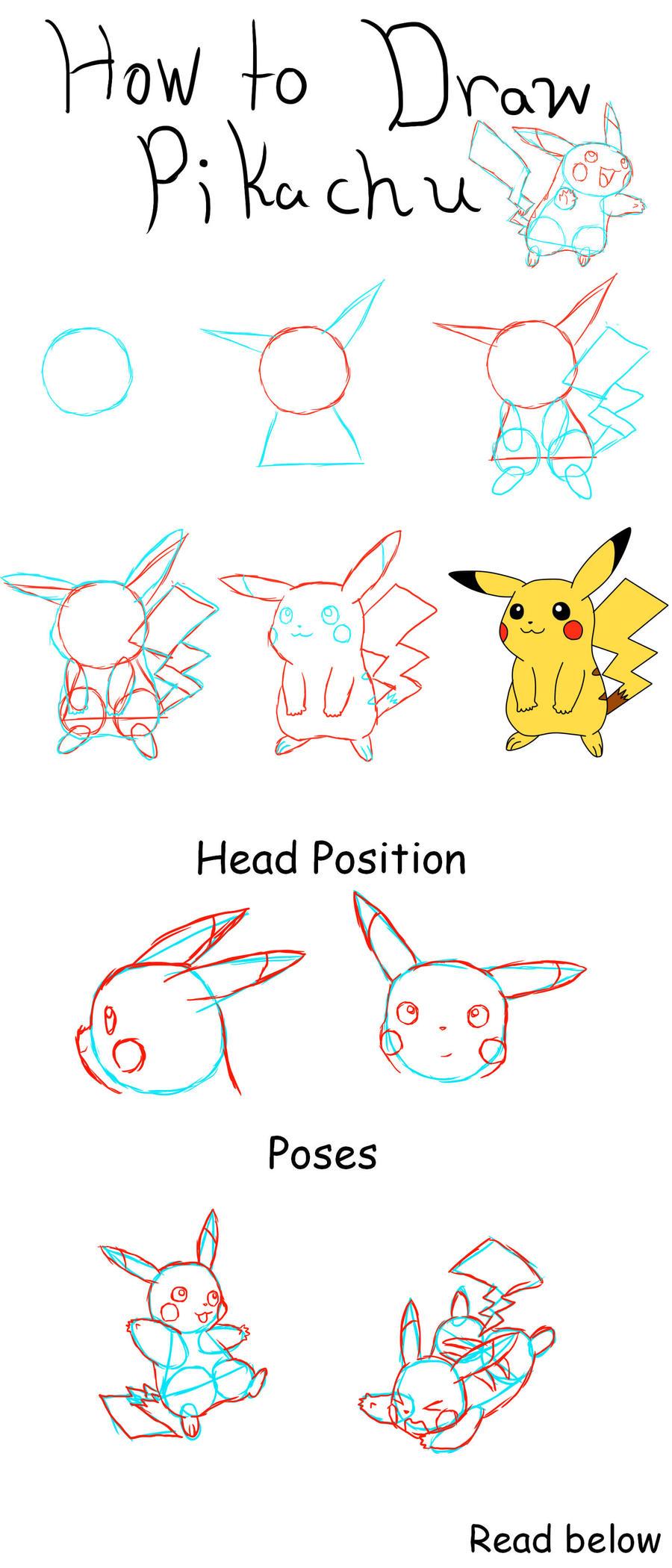 how to draw pikachu by zero20ne how to draw pikachu by zero20ne