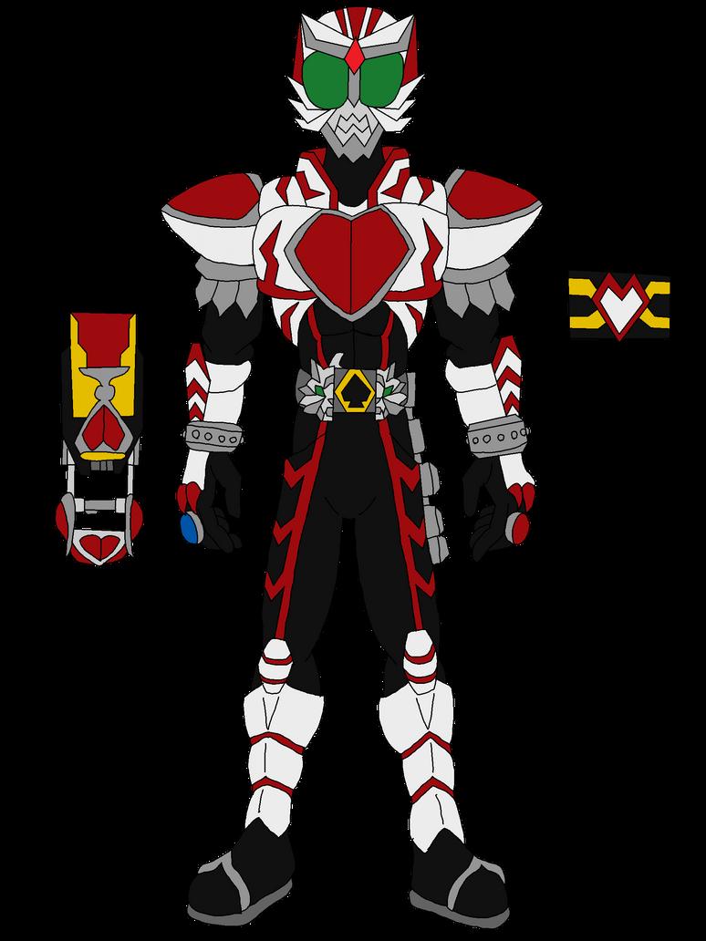 Kamen Rider Ace - Heart Form by The-Rebel-Angel on DeviantArt