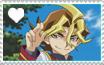 Shingo Sawatari Stamp by AliceEeveelution