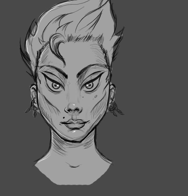 fast sketch by rapxic
