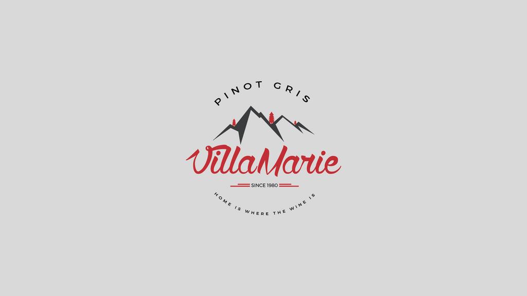 Villa Marie Logo by PullanArts