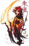 Suzaku: Lips of Fire