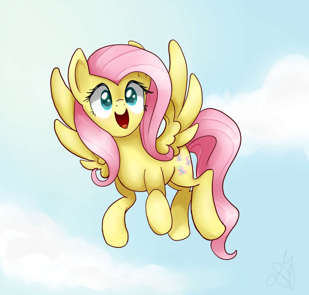 Fluttersky by MaggyMss on DeviantArt